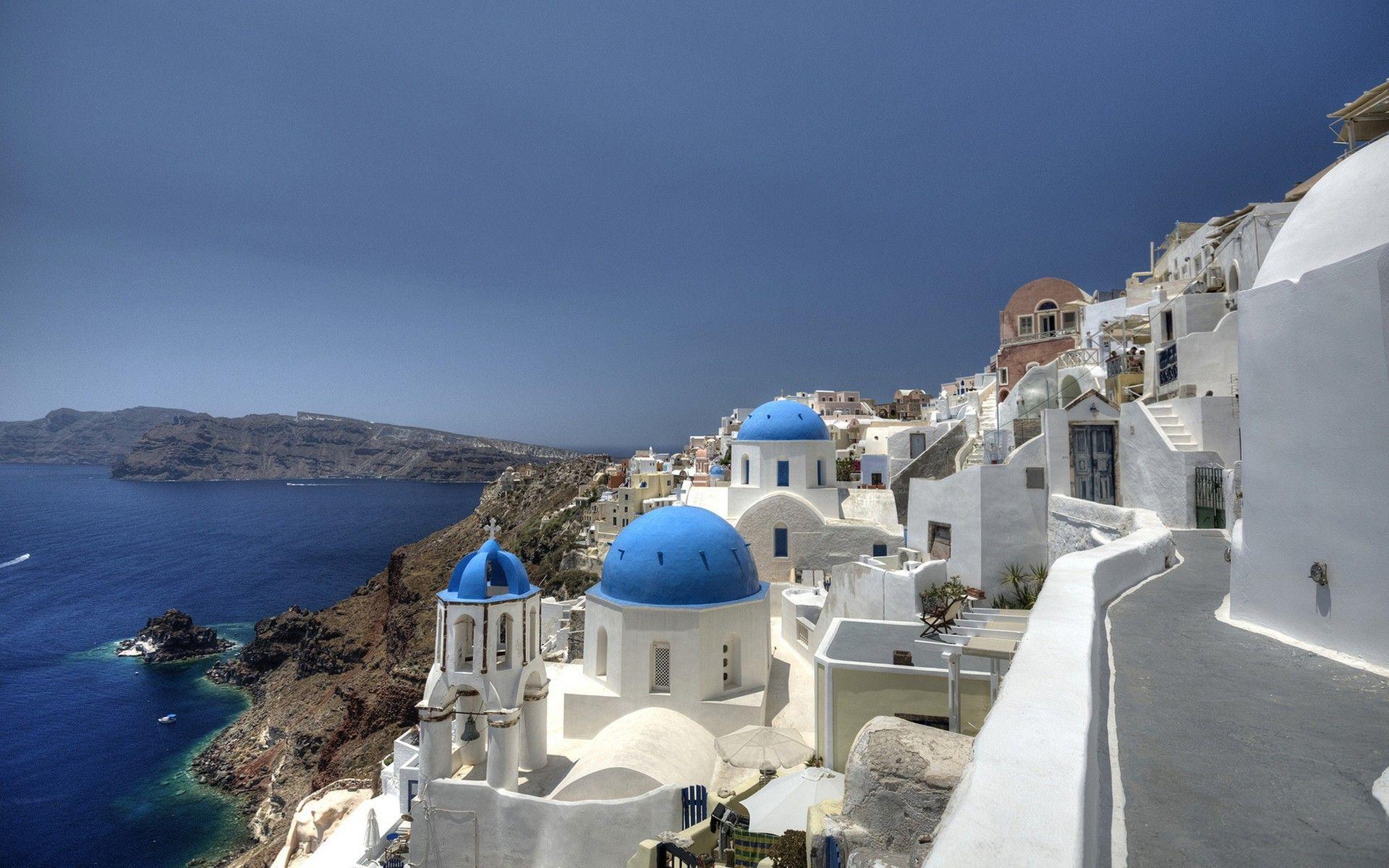 fond d'ecran iles grecques