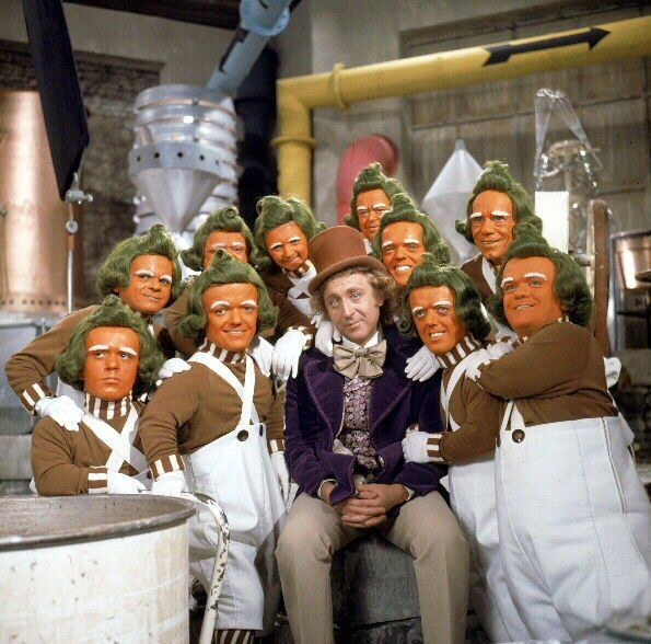Gene Wilder On The Set Of The Original Charlie And The Chocolate