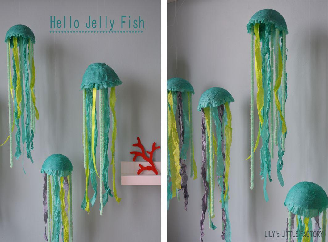 how to make paper mache jellyfish
