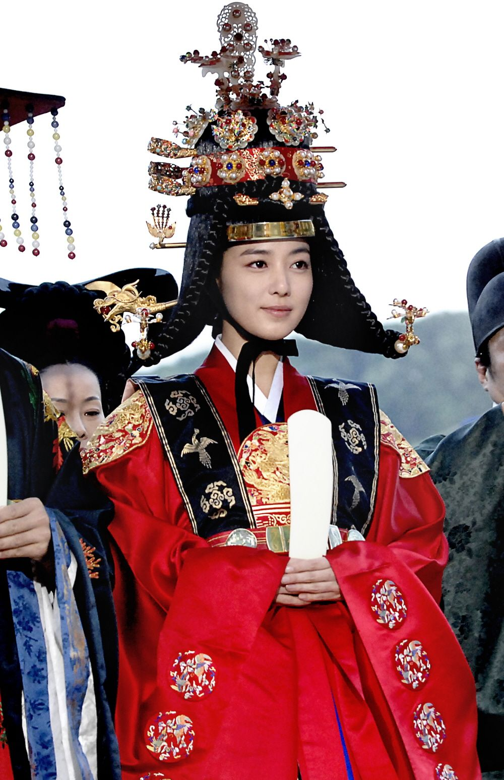 한복 Hanbok : Korean traditional clothes[dress] | Korean drama [Dong Yi] = 희빈장씨 [Lady Jang Hui-bin] - 이소연(Lee So-yeon)