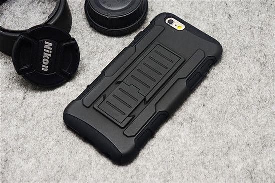 Armor Dual Layer Holster mit Ständer Schutz Hülle für iphone4/5/6/6Plus, Samsung S3/4/5/6/6Edge, Note2/3/4 - elespiel.com