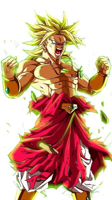 Broly el supersaiyajin legendario 30 ilustraciones - Broly dragon ball gt ...