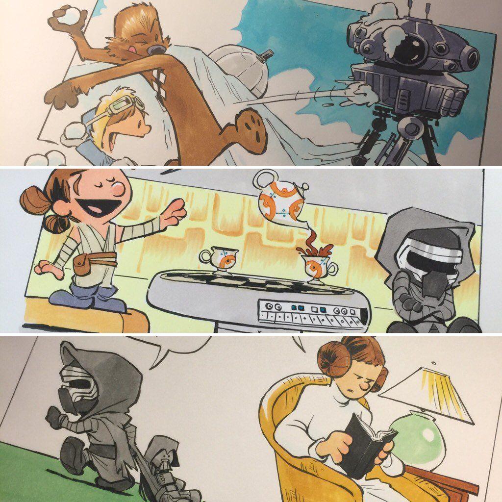 Embedded Image Star Wars Comics Star Wars Illustration Star Wars Art