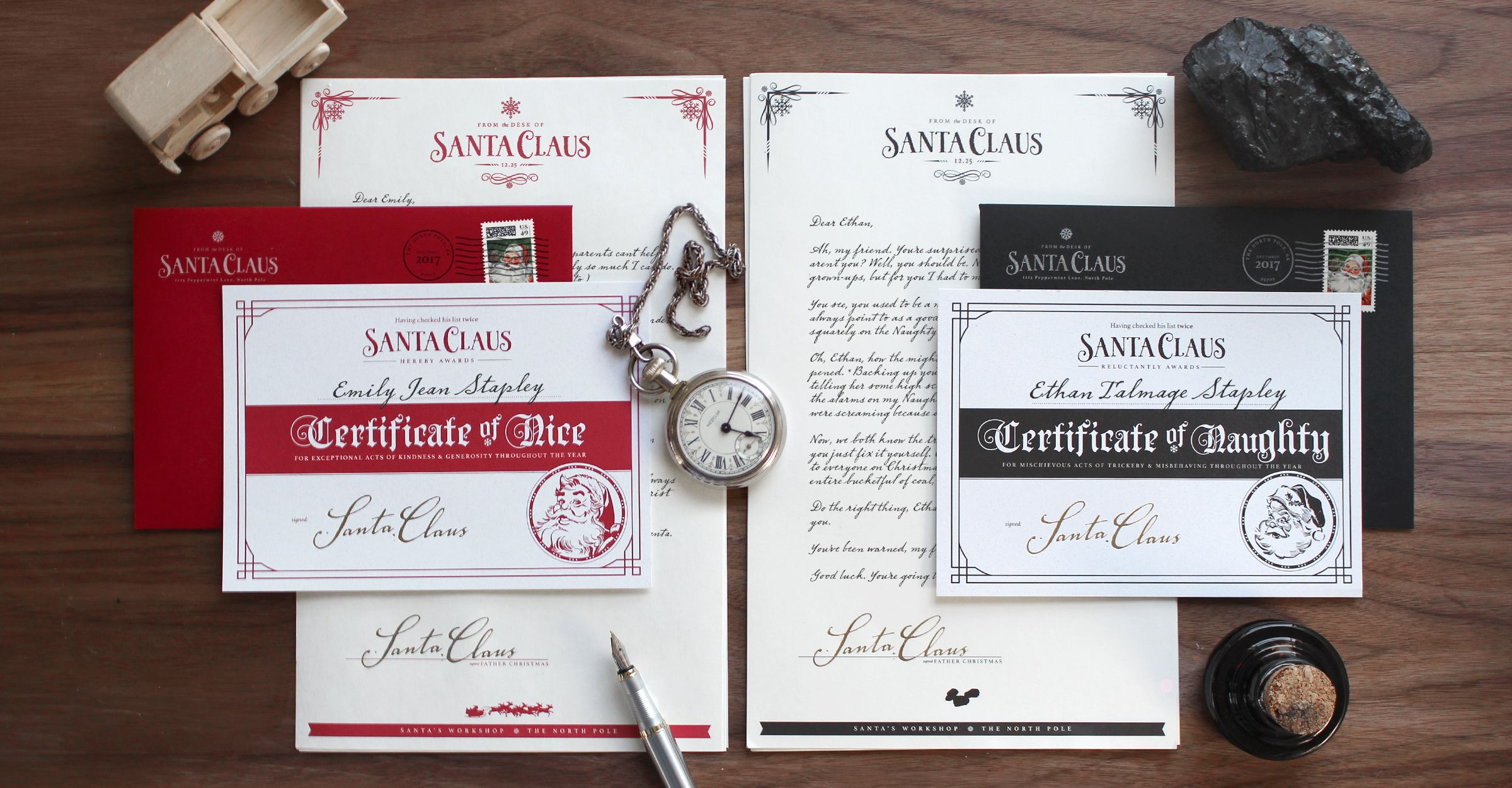 The Original Letter From Santa Personalized Letters From Santa So