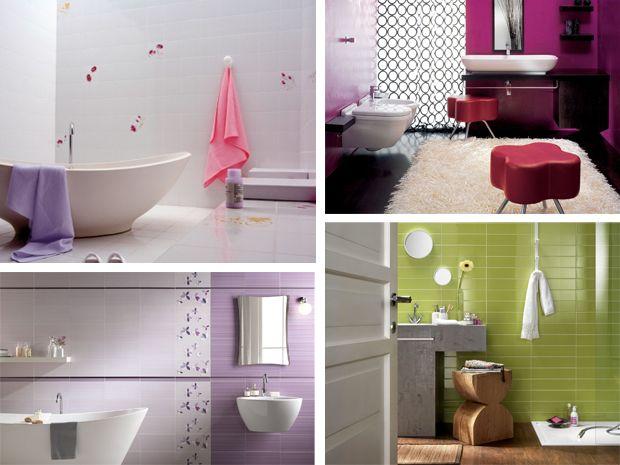 idee bagno piastrelle idee arredo bagno mosaico colorato specchio