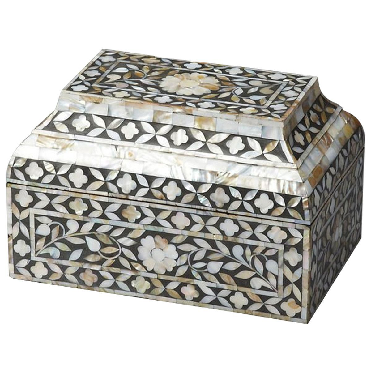 Butler Specialty Hors D'Oeuvres Mother Of Pearl Storage Box