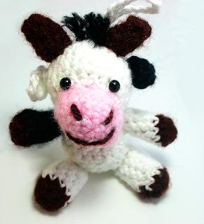 Kostenlose Häkelanleitung Kuh Mucca Die Kuh Crochet Pattern