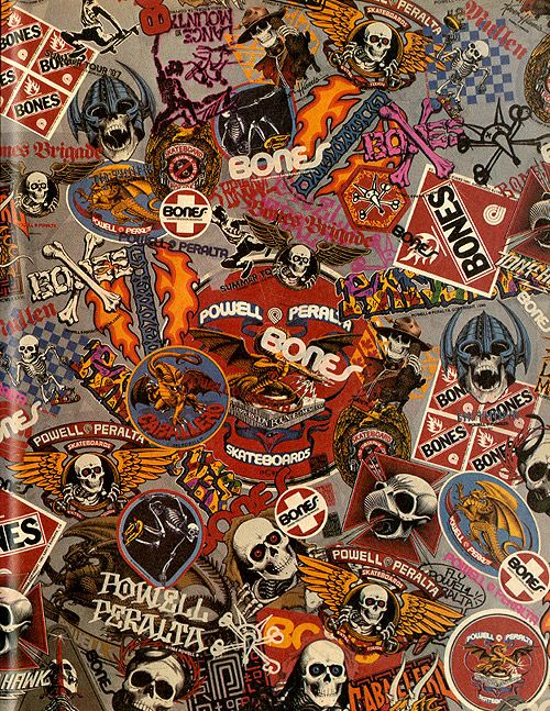 Ad Of The Day Sticker Bomb Skate Stickers Skateboard Art