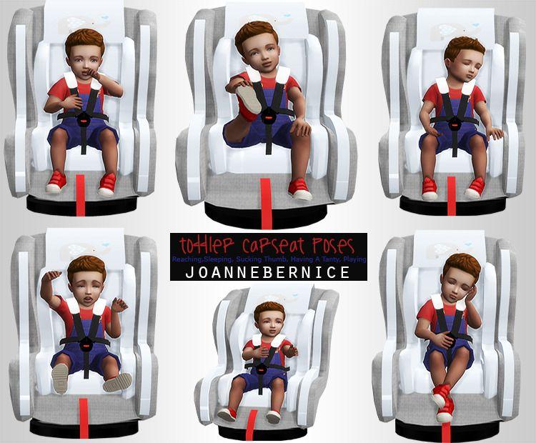 Sims 4 car seat pose
