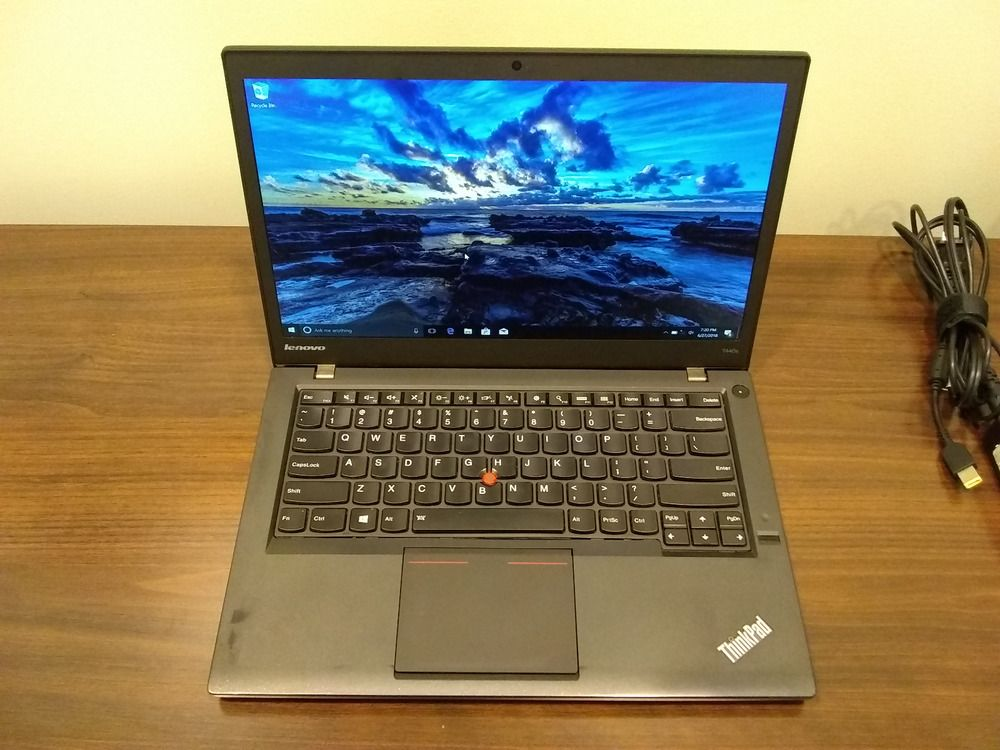 LENOVO ThinkPad T440s Laptop Intel i7-4600U 256GB SSD / 8GB