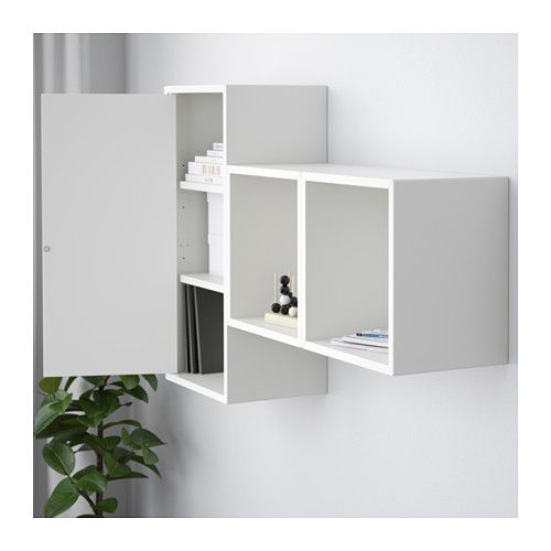 Eket Combinaison Rangement Murale Blanc Ikea Suisse