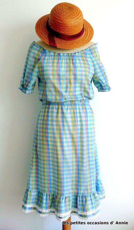 robe vintage printanière