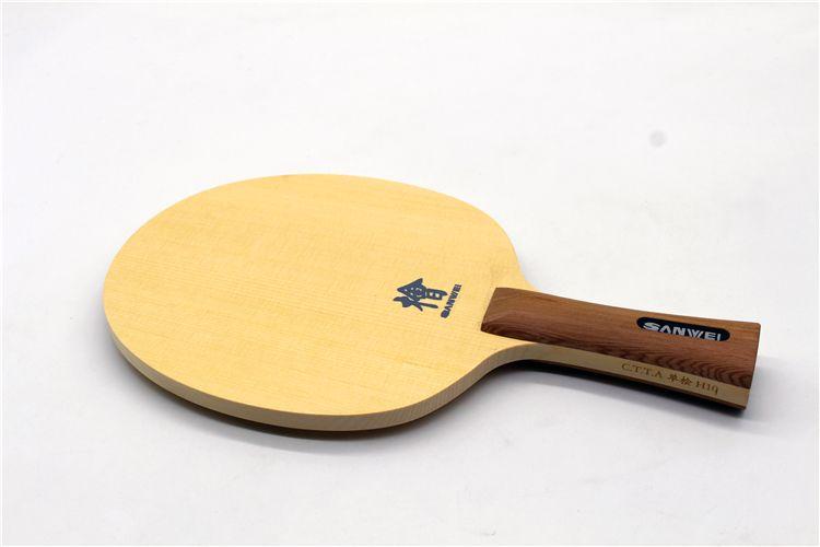 Check Discount Sanwei Original H10 1 Ply Hinoki Table Tennis Blade
