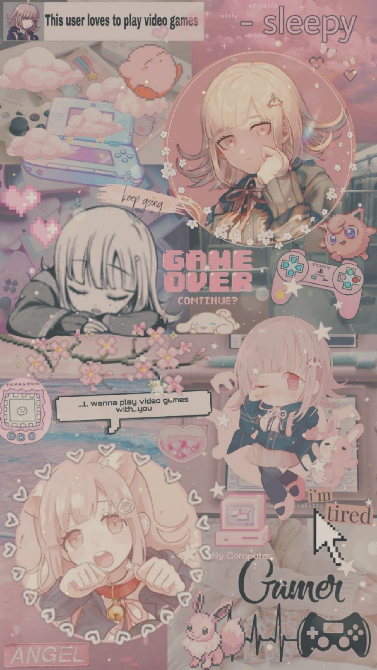 Chiaki Nanami Aesthetic Cute Anime Wallpaper Anime Wallpaper Iphone Aesthetic Anime