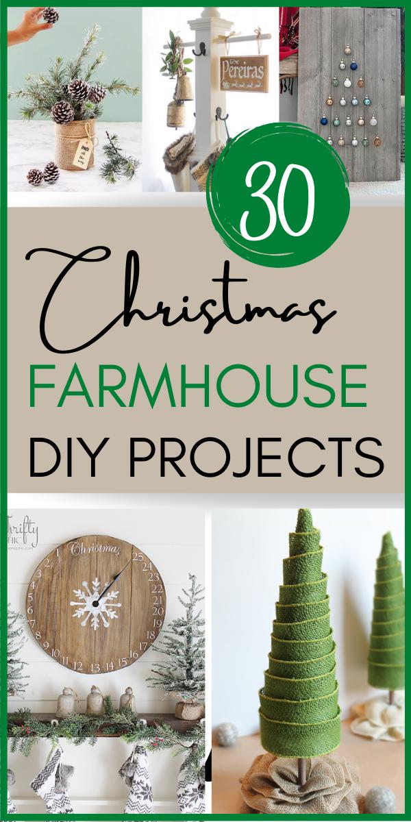 30 Amazing Christmas Farmhouse DIY Projects