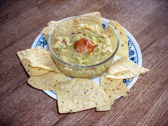 Guacamole With Sour Cream Recipe Food Com Sour Cream Recipes Recipes Sour Cream