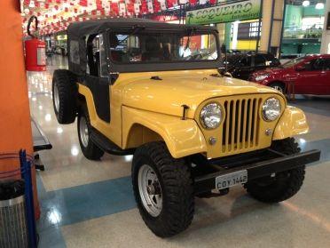 Off Road 4x4 Ford Jeep 1962 1962 Carro Jipe Carros E