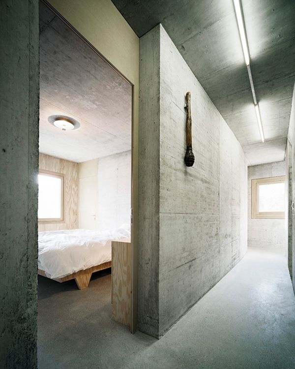 Concrete Interior Design by AFGH Concrete interiors Concrete and