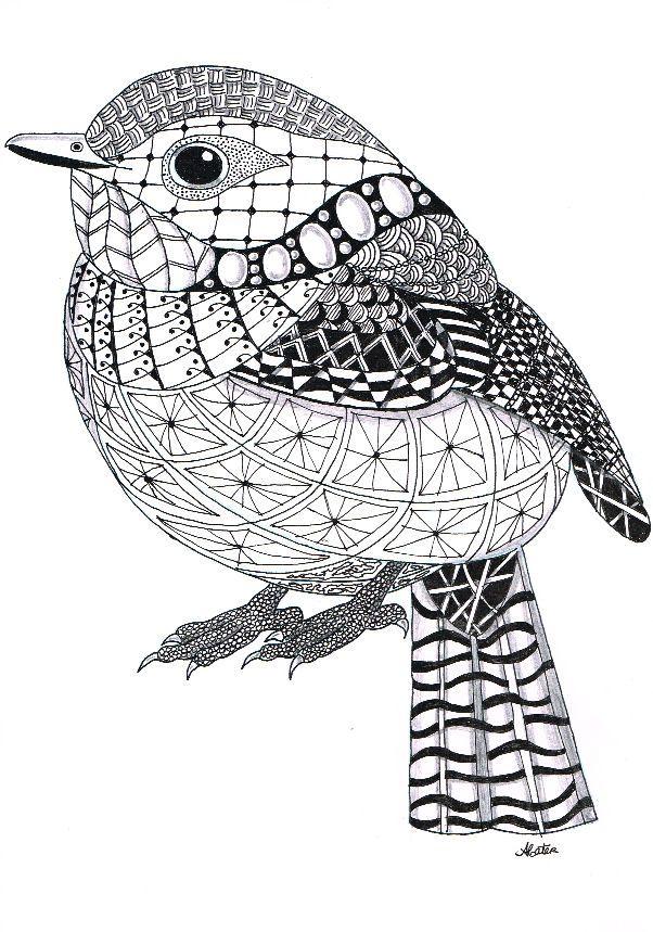 Tabbycattangles – Zentangle Animals