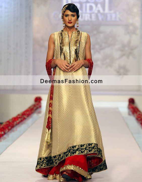 a line dress pakistani