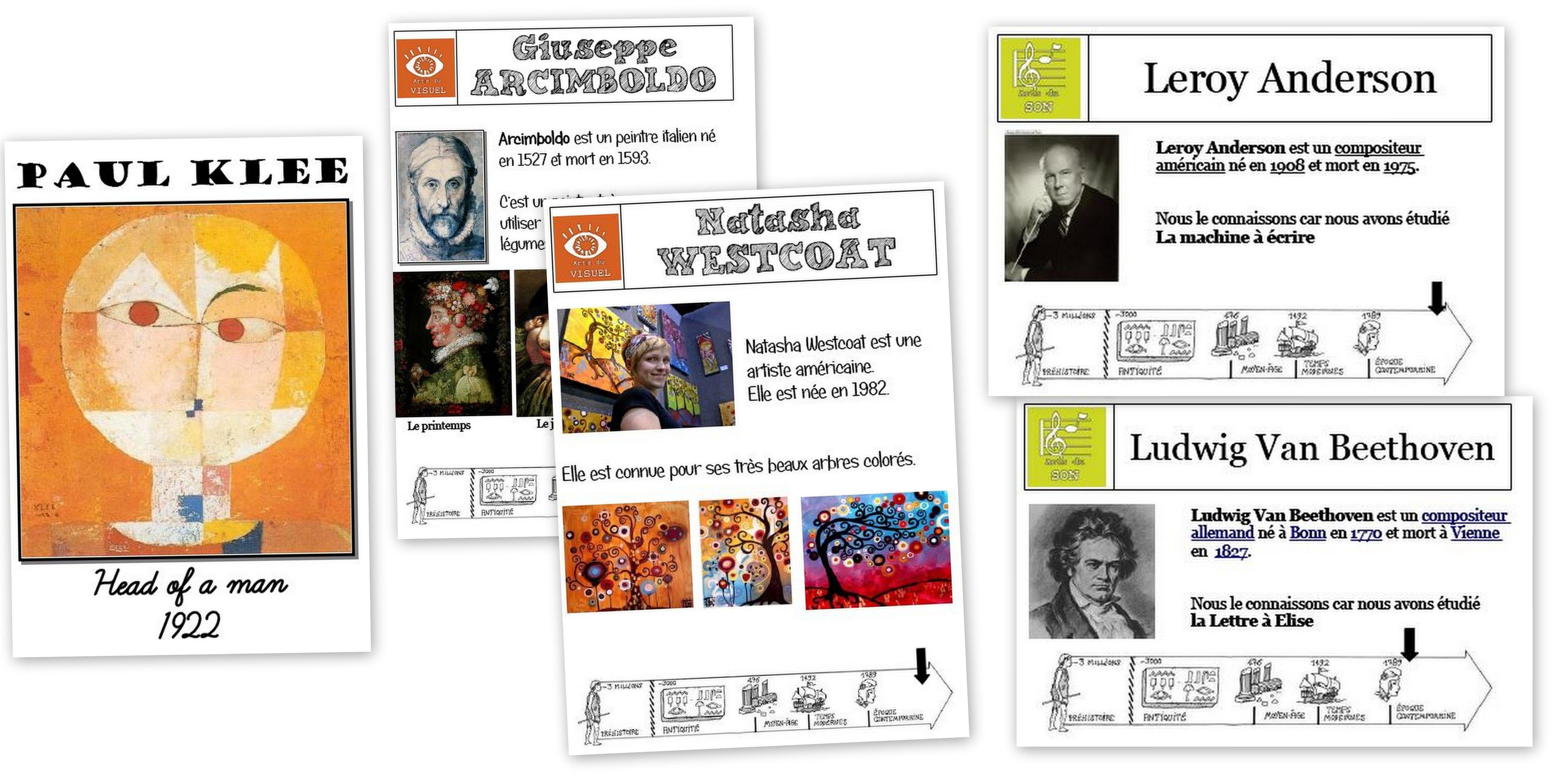 histoire des arts ma classe 224 mo226 ce2 arts visuels