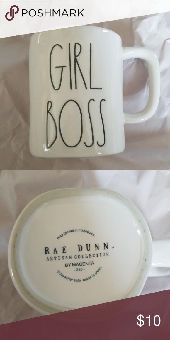 Brand New Rae Dunn Girl Boss Coffee Mug Brand new Rae Dunn 'Girl Boss' coffee in excellent condition rae dunn Accessories #bosscoffee