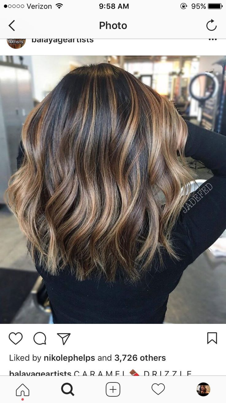 Trendy Hair Highlights : This is exact color and length I want my hair #fallhaircolors