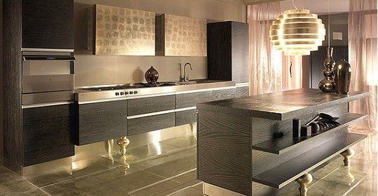 Cucina moderna di lusso | Kitchen ideas | Pinterest | Cucine, Cucina ...