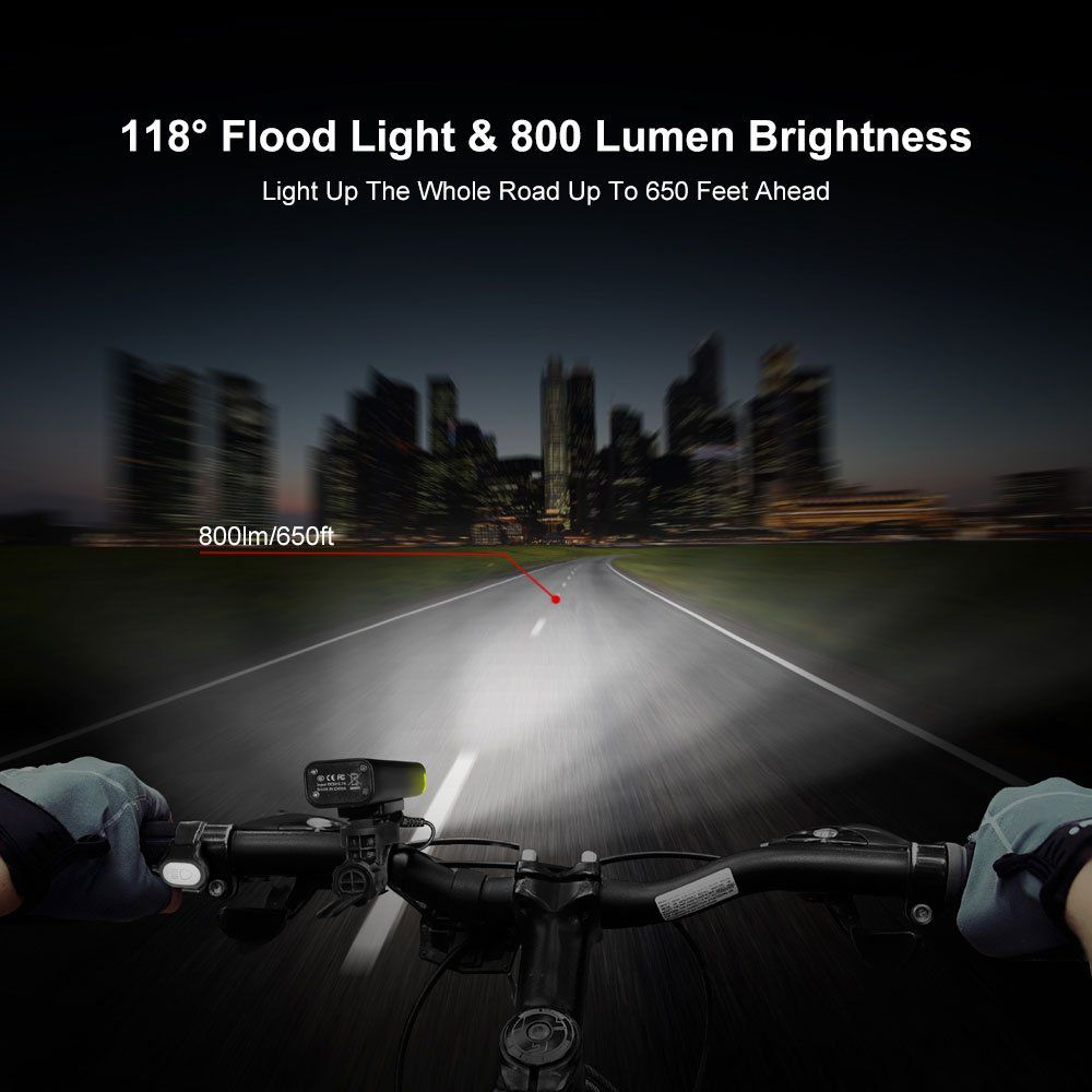 Bicycle headlights and equipment accessories