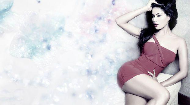 Veena Malik Latest Gorgeous Photoshoot Veena Malik Wallpaper