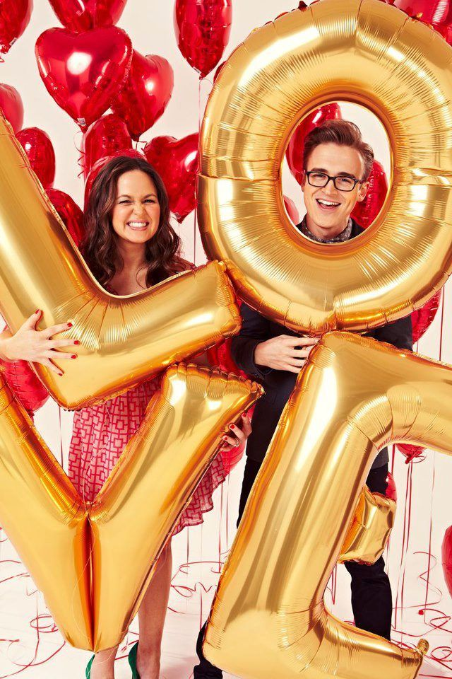 My most favorite couple. Tom fletcher, Mcfly, Cute couples