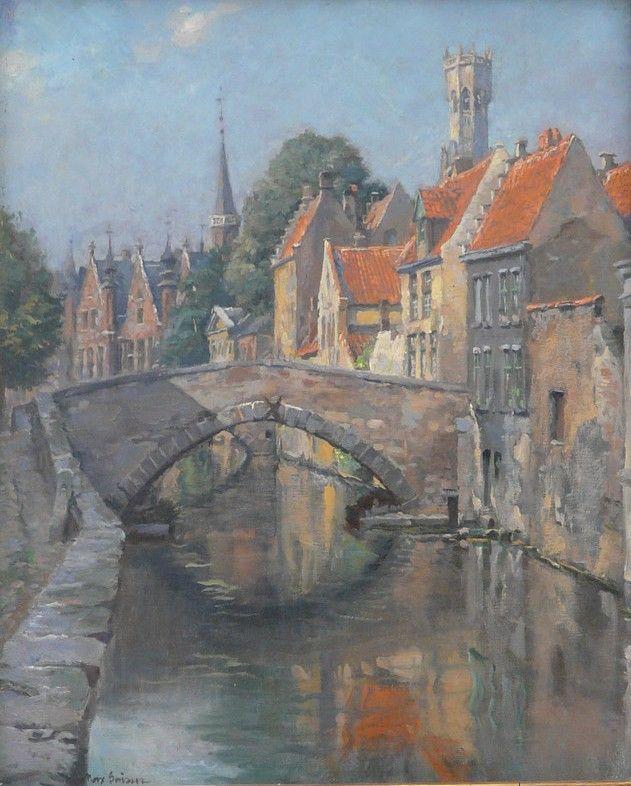 Max Gaisser, Kanal in Brügge