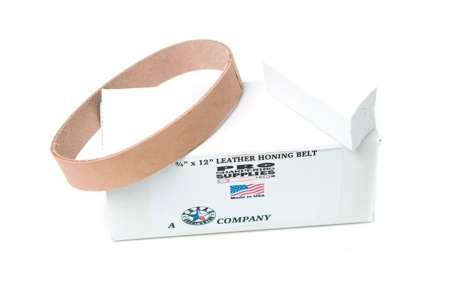 Sharpeners 42290 3 4 X12 Leather Honing And Polishing Belt
