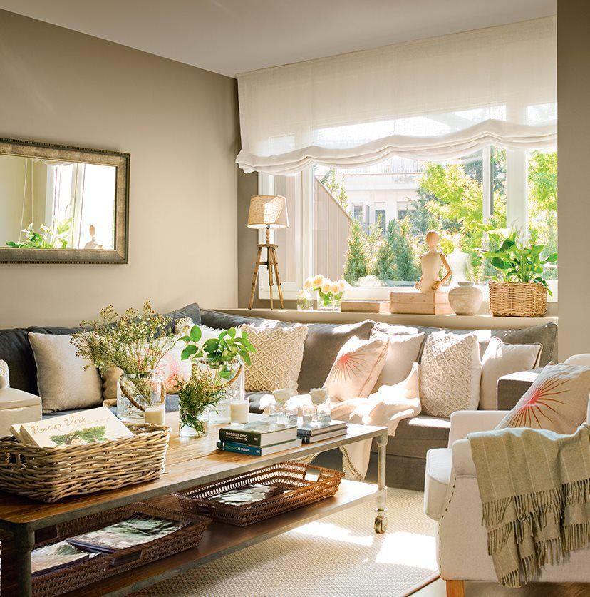 5 espacios mini que lo tienen todo sofas rinconeras - Rinconeras de salon ...