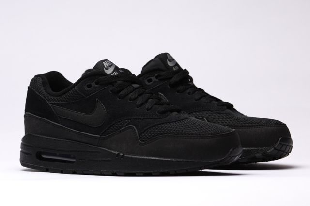 schwarze air max essential
