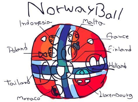 Countryballs Artwork 1 Poland Polandball By Theloudhousefan2005