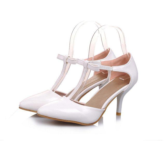 Zapatos de puntera puntiaguada de tacón de stiletto de encajede lujo Fiesta de bodas bnHjK4