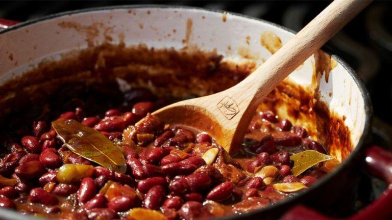 Guy Fieri S Old School Baked Beans Baked Bean Recipes Baked Beans Bean Recipes