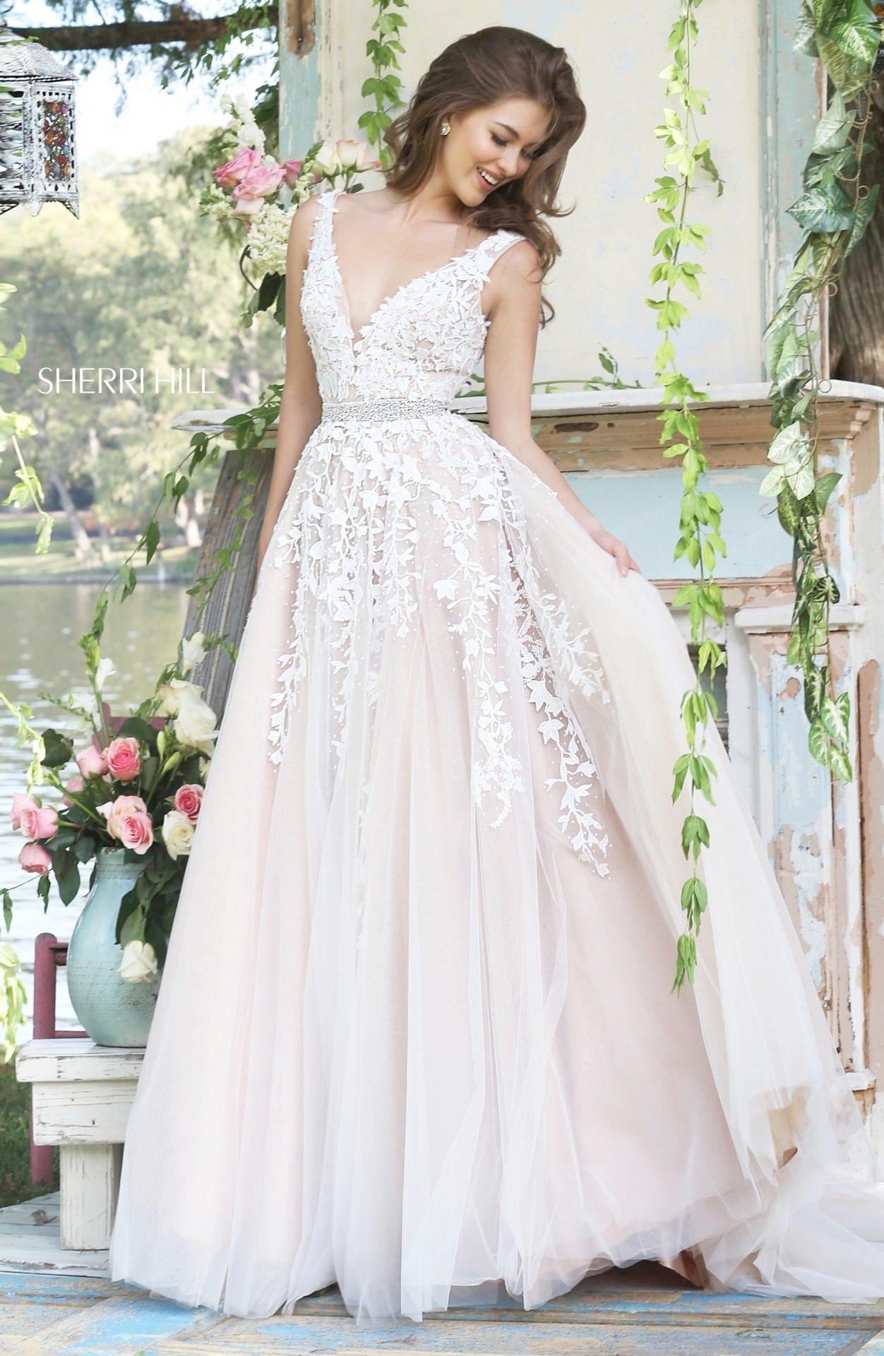 cbedf45c6633 11335 Sherri Hill | Cata is the bomb! | Wedding dresses, Dresses ...