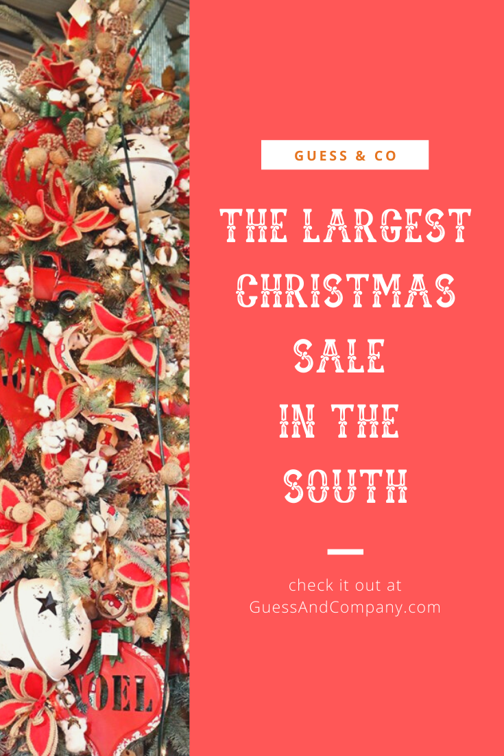 Guess And Company Christmas At The Warehouse The Largest Christmas Warehouse Sale In The South Christmas Gift Decorations Cozy Christmas Arkansas Travel