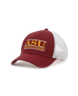 sports shoes 29b41 3c310 Game Arizona State Sun Devils Mesh Bar Cap - Red Adjustable