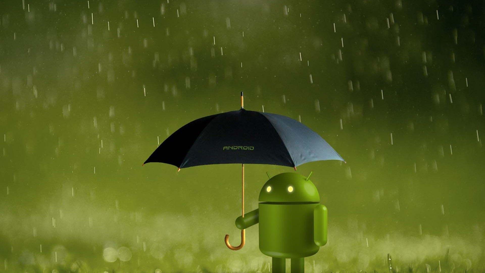 ambrella android rain