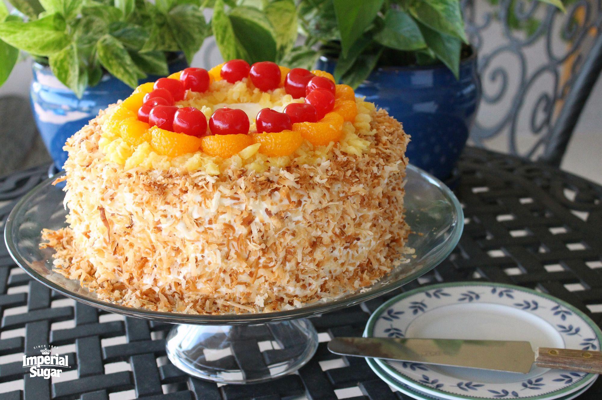 Ambrosia angel food cake imperial sugar recipe angel