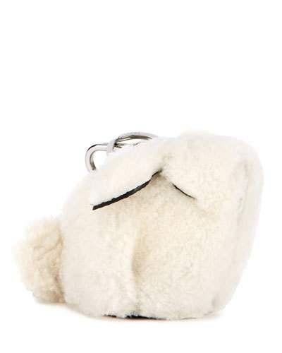 Loewe Shearling Fur Bunny Bag Charm z5fwujmh