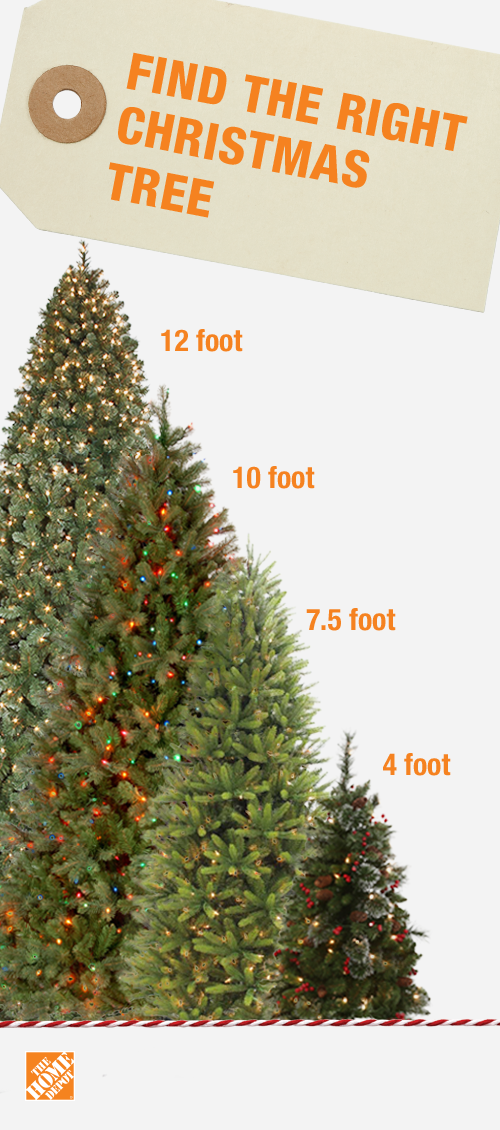 Find The Right Size Tree For Your Home This Christmas Artificial Trees Come In Heights From 3 Ft Holiday Decor Christmas Christmas Tree Christmas Tree Design