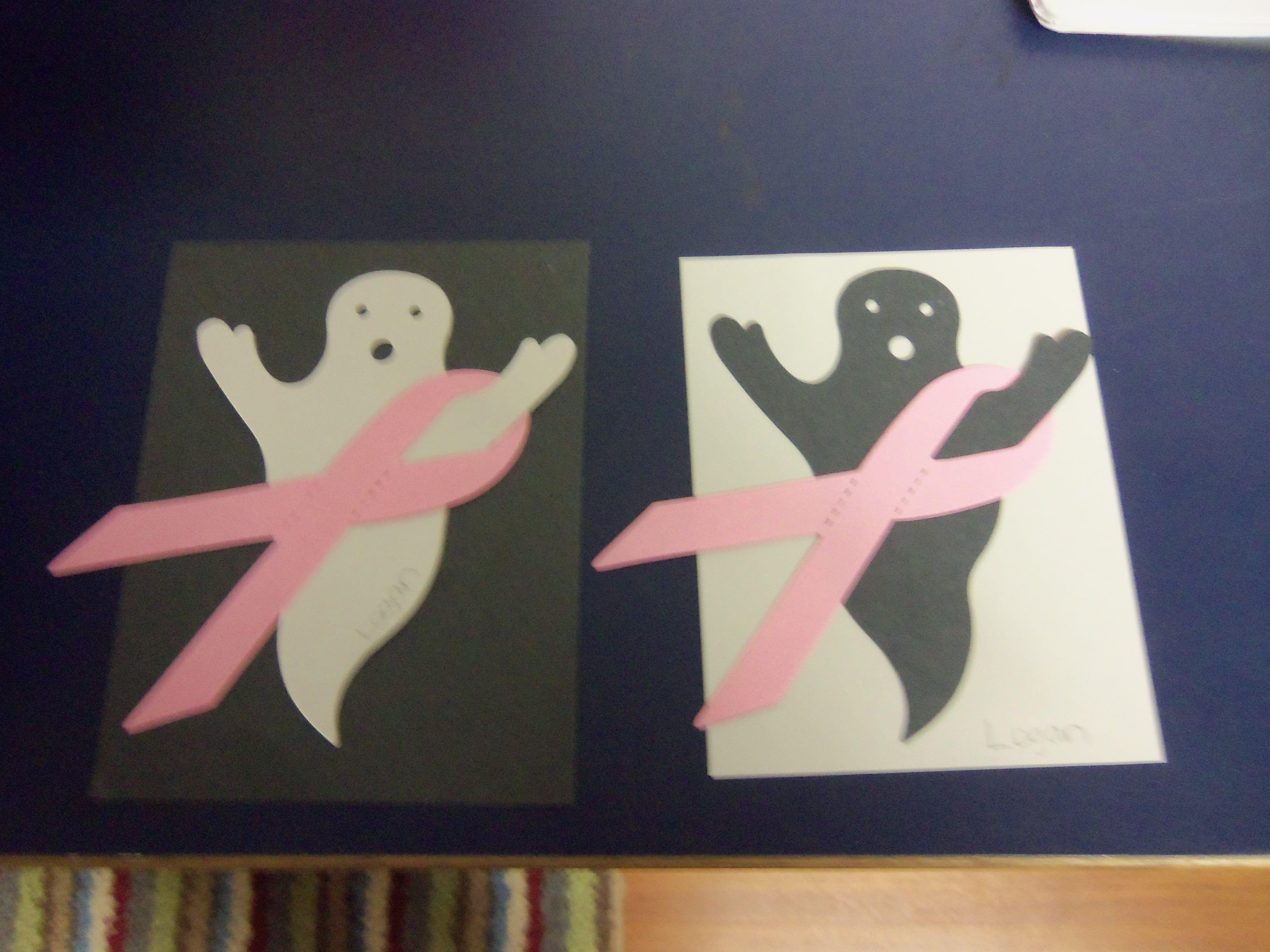 Halloween/Breast Cancer Awareness door decorations #RA #RAideas #doordecs # Halloween & Halloween/Breast Cancer Awareness door decorations #RA #RAideas ...