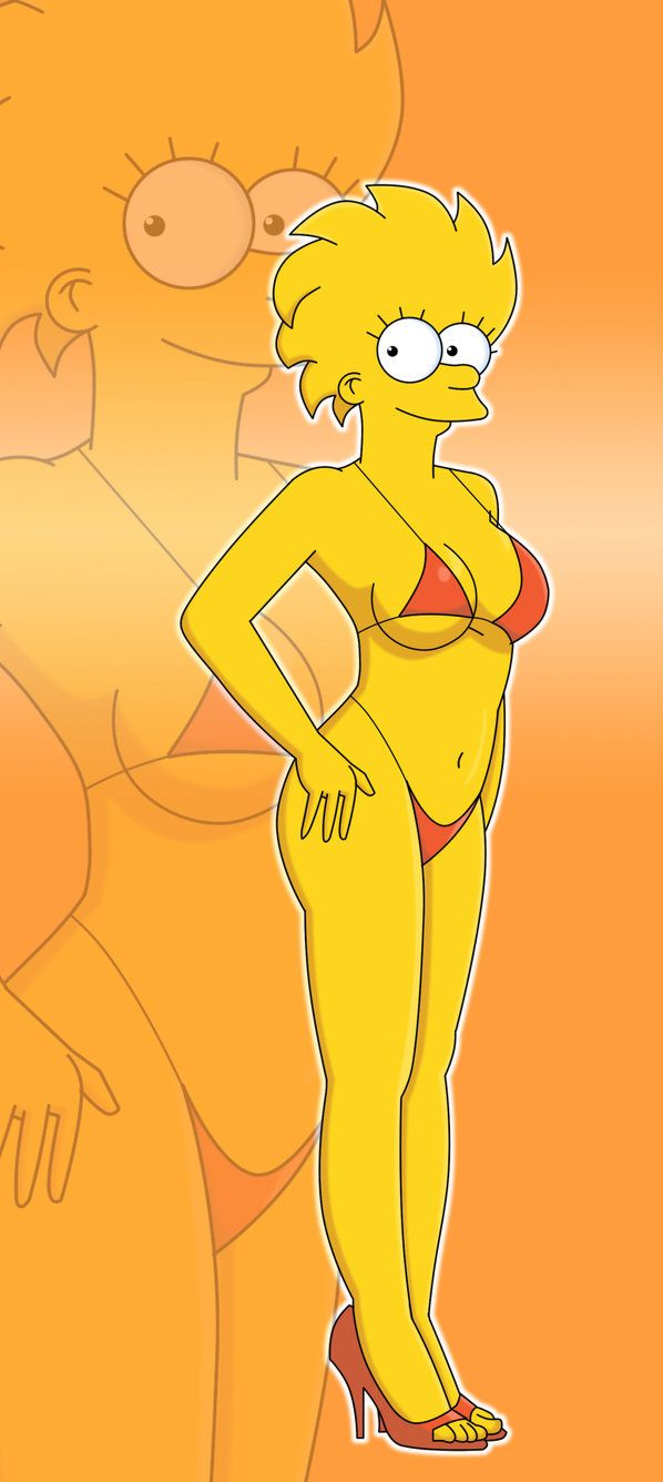 lisa simpson nude