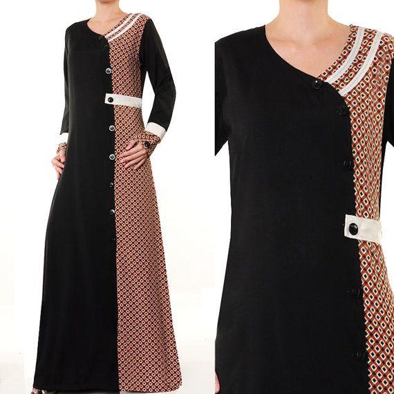 Arabic Islamic Wear Ladies Abaya Batik Clothing Long by MissMode21, $28.00