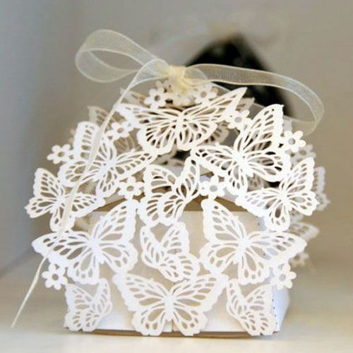 Stunning butterfly cut box