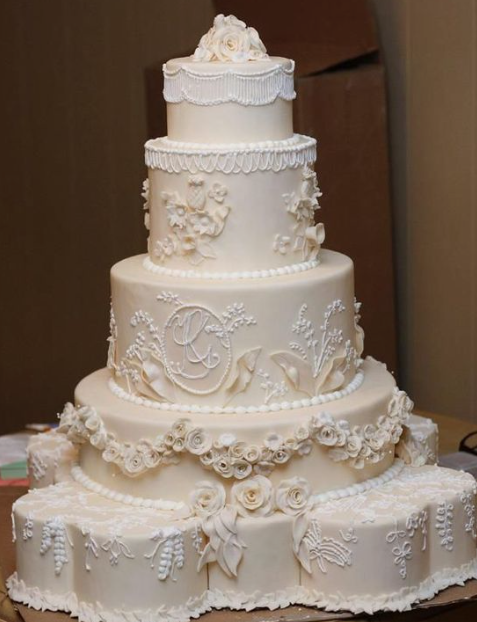 Pin by C. B. on Cake Collections Huge wedding cakes, Big